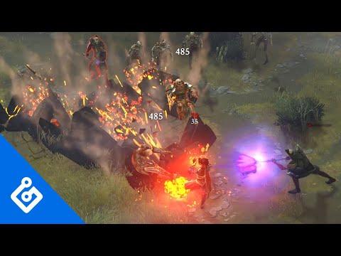 Exclusive Magic: Legends Gameplay Trailer