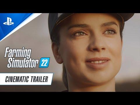 Farming Simulator 22 - Cinematic Trailer | PS5, PS4