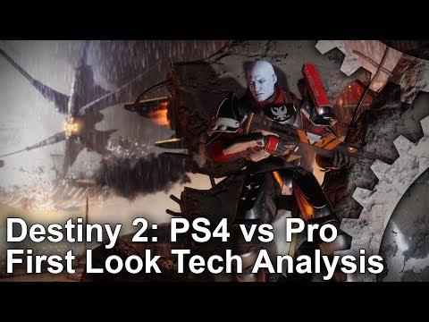 [4K] Destiny 2 Beta PS4 vs PS4 Pro: Can Bungie Deliver Full 4K Gameplay?