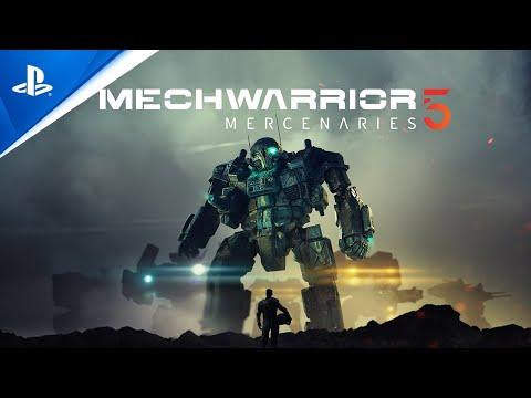 MechWarrior 5: Mercenaries - Announcement Trailer   PS5, PS4