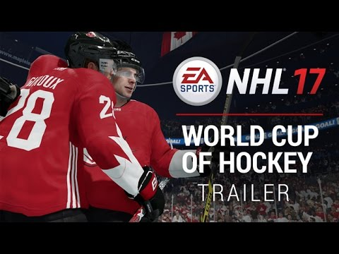 NHL 17   World Cup of Hockey Trailer - Gamescom 2016   Xbox One, PS4