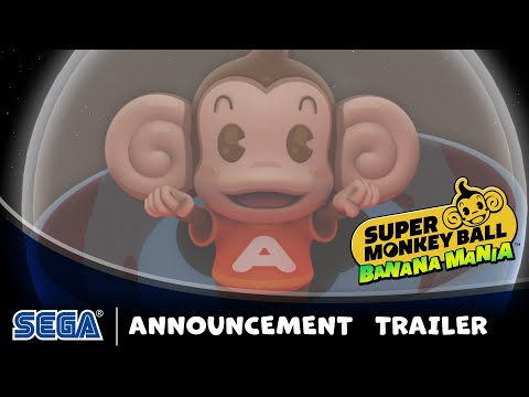 Super Monkey Ball Banana Mania   Announce Trailer