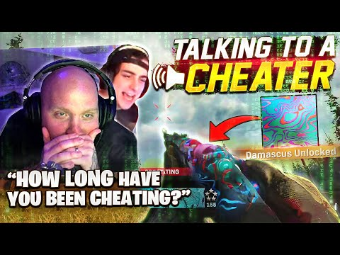 WE TALKED TO A CHEATER THAT HAD DAMASCUS UNLOCKED! Ft. Cloakzy