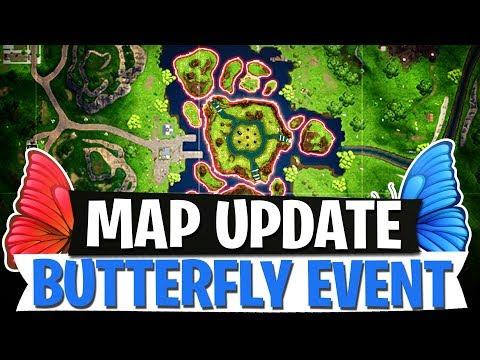 SO SIEHT DIE NEUE KARTE AUS! | BUTTERFLY EVENT & MAP UPDATE LEAK | Fortnite Battle Royale