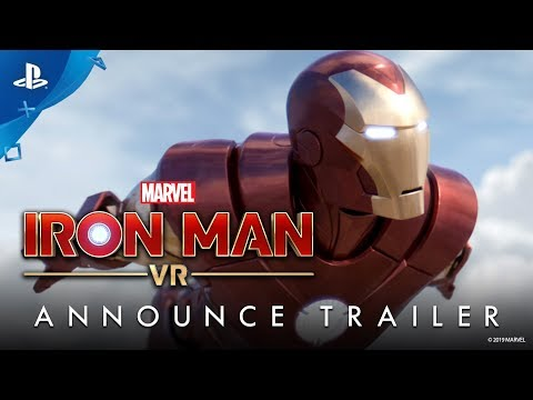Marvel's Iron Man VR | Announce Trailer | PS VR