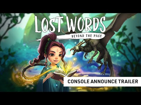 Lost Words: Beyond the Page – Release Date Trailer