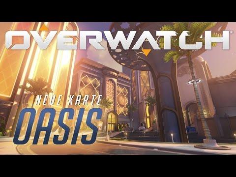 Oasis | Vorschau auf neue Karte | Overwatch (DE)