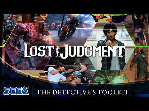Lost Judgment | The Detective's Toolkit (DE USK)