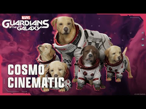 Marvel's Guardians of the Galaxy - Cosmo Cutscene