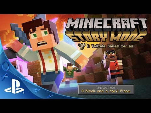 Minecraft: Story Mode - Episode 4 Trailer | PS4, PS3