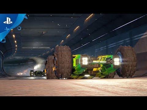 GRIP: Combat Racing Release Date Trailer   PS4