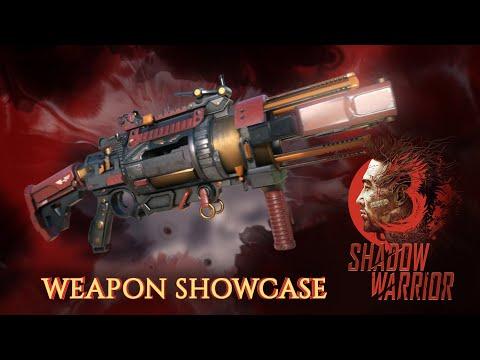 Shadow Warrior 3 - Weapon Showcase
