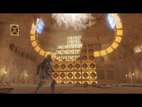 NieR Replicant ver.1.22474487139... The Barren Temple Gameplay