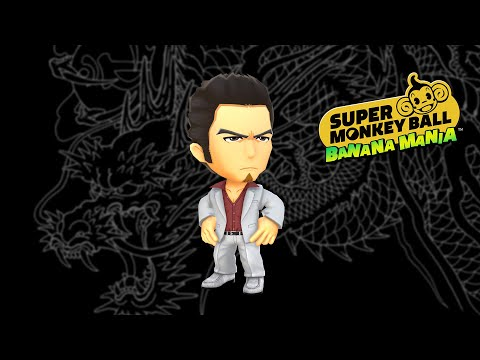 Super Monkey Ball Banana Mania | Kazuma Kiryu mischt mit [USK]