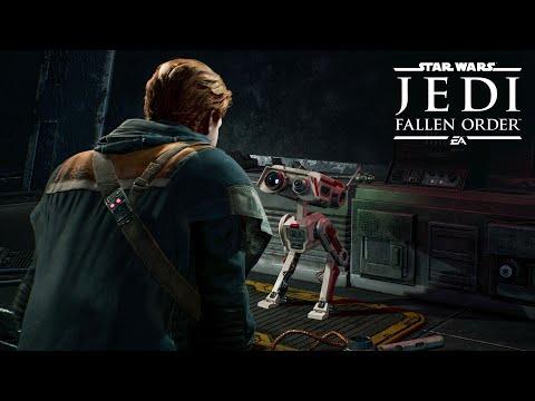 Star Wars Jedi: Fallen Order – Designing BD-1