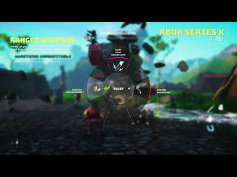 Biomutant - Gameplay Footage (Xbox Series X)