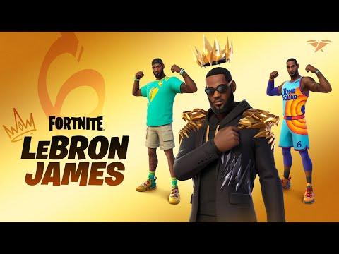 LeBron James wird Teil der Fortnite-Ikonen-Reihe