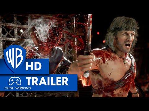 MORTAL KOMBAT 11 ULTIMATE – Rambo Wins Trailer Deutsch HD German (2020)