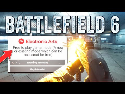 """Battlefield 6 Survey Confirms Rumors! Battle Pass, Free to Play"""" & More!"""