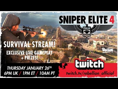 Sniper Elite 4 Let's Play! Survival: Village