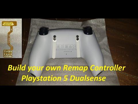 PS5 Dualsense EZ Remap PCB + PADDLES DIY GAMER TUTORIAL BUILD UR OWN Scuf style Controller