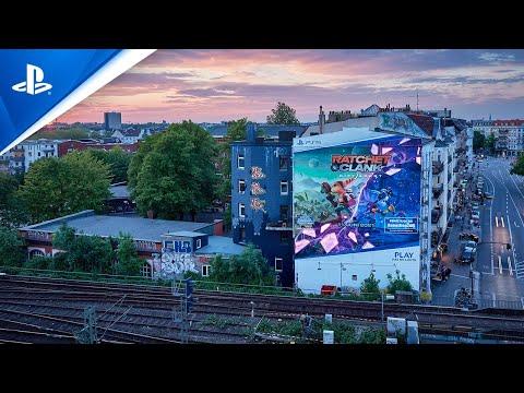 Ratchet & Clank: Rift Apart - Hamburg Mural