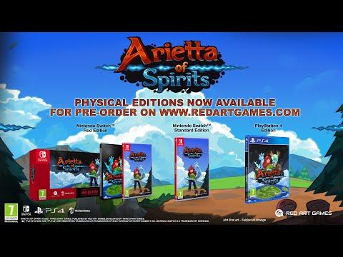 Arietta of Spirits | Nintendo Switch Announcement Trailer