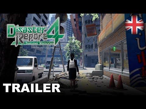 Disaster Report 4: Summer Memories - Gameplay Trailer (PS4, Nintendo Switch, PC) (EU - English)