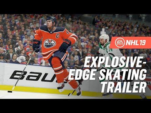NHL 19   RPM Tech   Explosive-Edge Skating Trailer