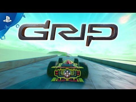 GRIP: Combat Racing - Introducing Carkour   PS4