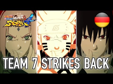 Naruto SUN Storm 4 - PS4/XB1/Steam - Team 7 Strikes back (German trailer)