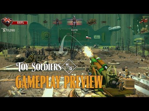 Toy Soldiers HD - Gameplay preview