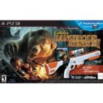 Playstation Move Cabela's Dangerous Hunts 2011 +  GUN MOVE-CONTROLLER