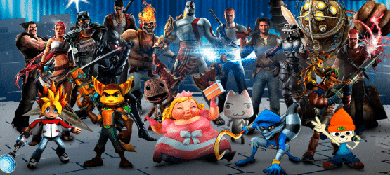 Playstation-All-Stars-Featured-cast