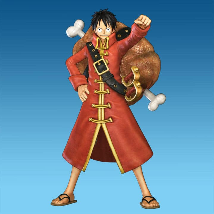 Luffy-Film-Z-Costume