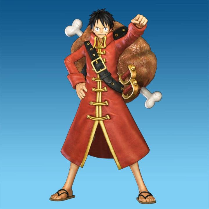 Luffy-Film-Z-Costume
