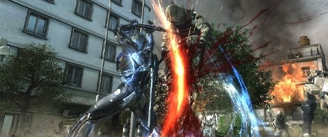 Metal Gear Rising Banner