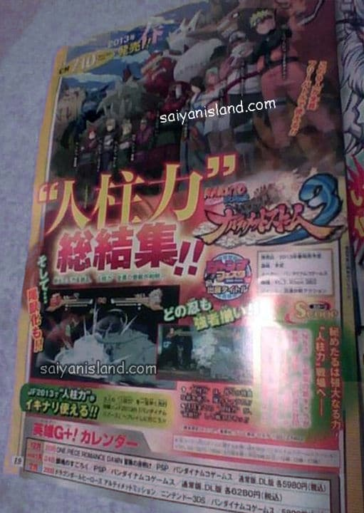 Naruto Ultimate Ninja Storm 3 Jinchuriki