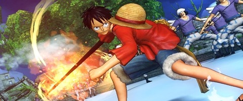 One Piece Pirate Warriors 2 Banner