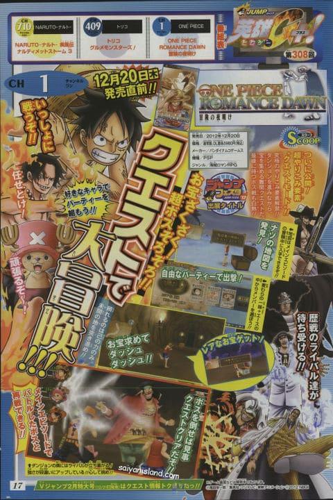 One Piece Romance Dawn Blackbeard