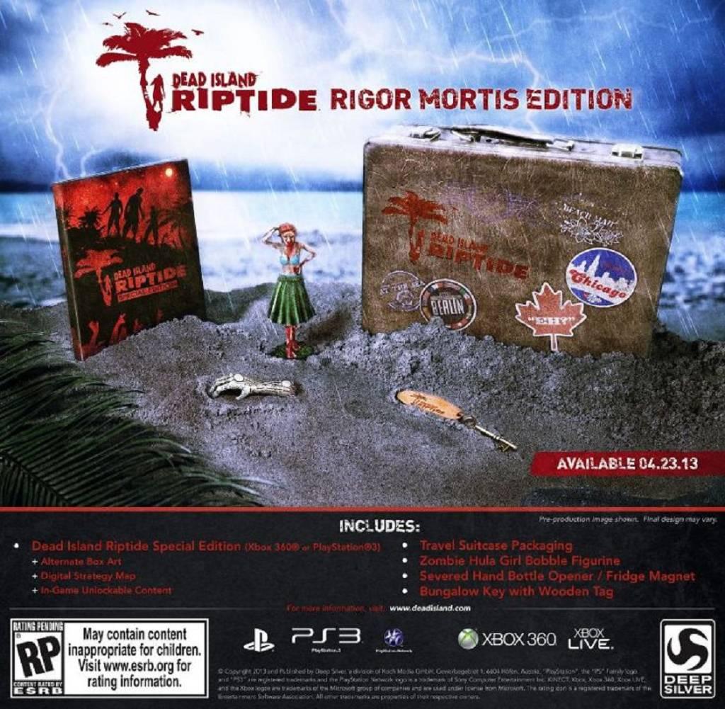 Dead Island Riptide Rigor Mortis Edition