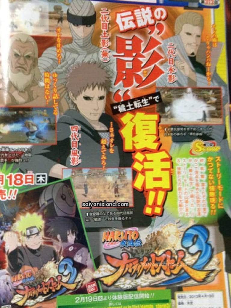 Edo Kage Naruto Storm 3