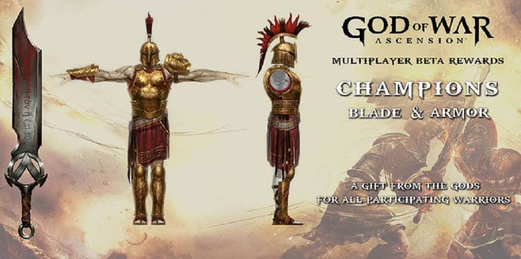 God of War Champions Blade & Armor
