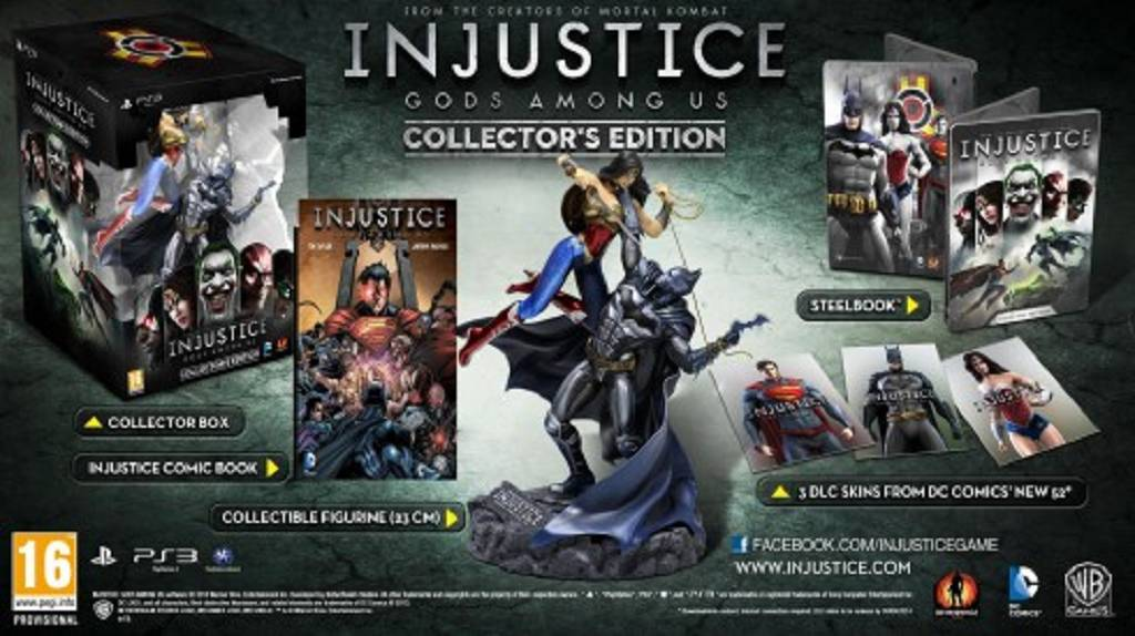 Injustice Collectors Edition