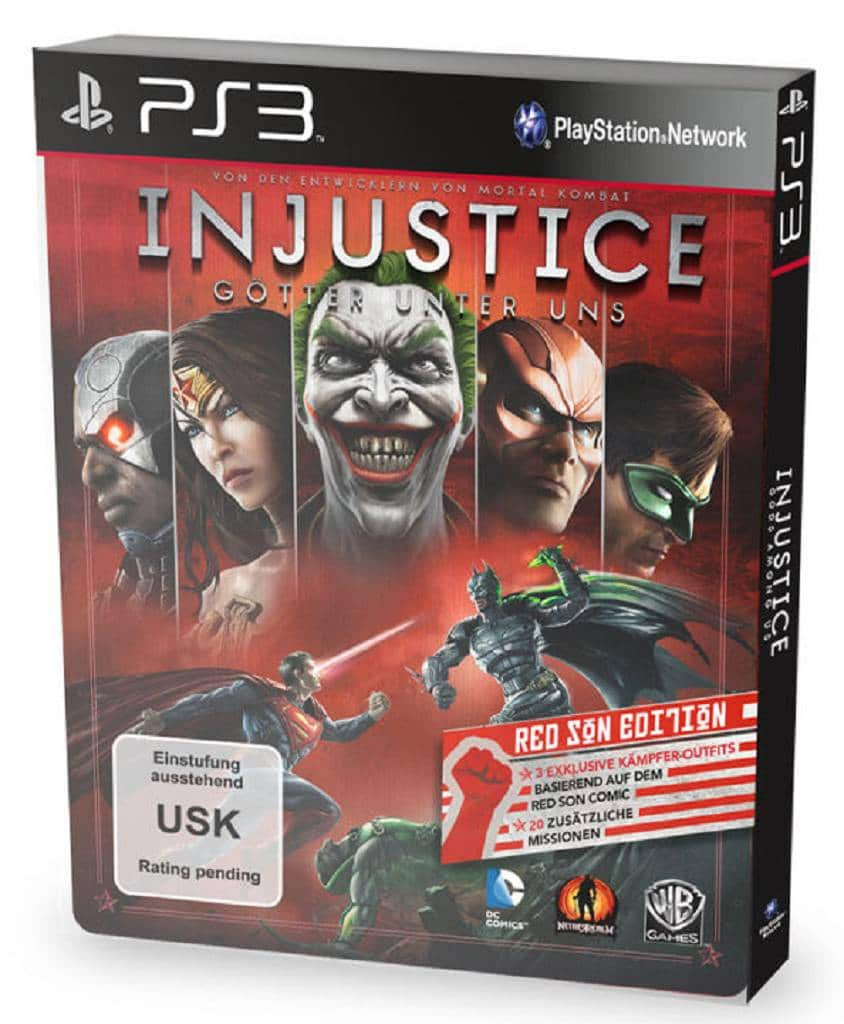 Injustice Red Son Edition