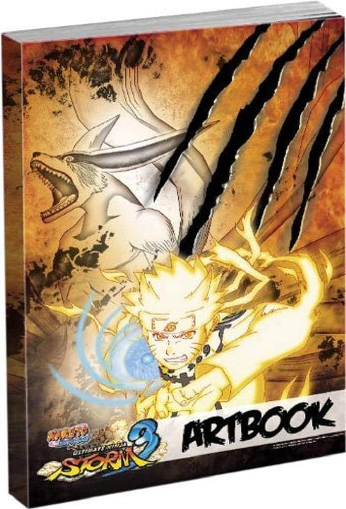 Naruto Shippuden Ultimate Ninja Storm 3 artbook amazon