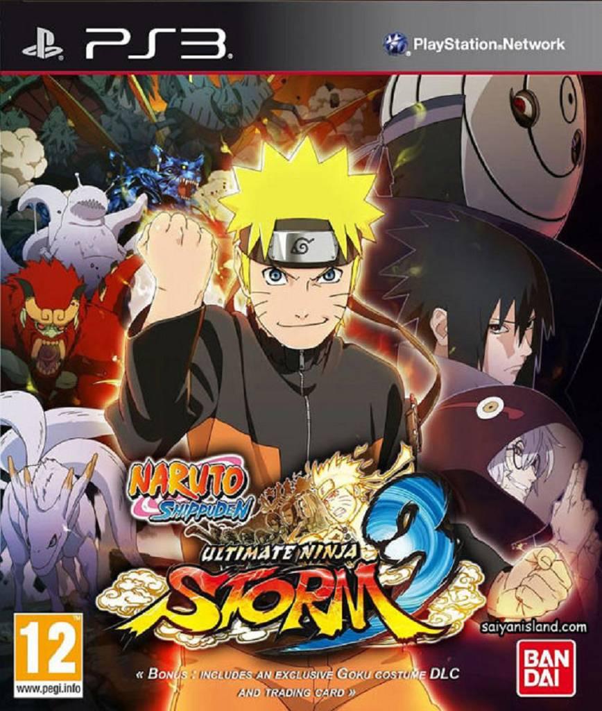 Naruto Storm 3 Boxart