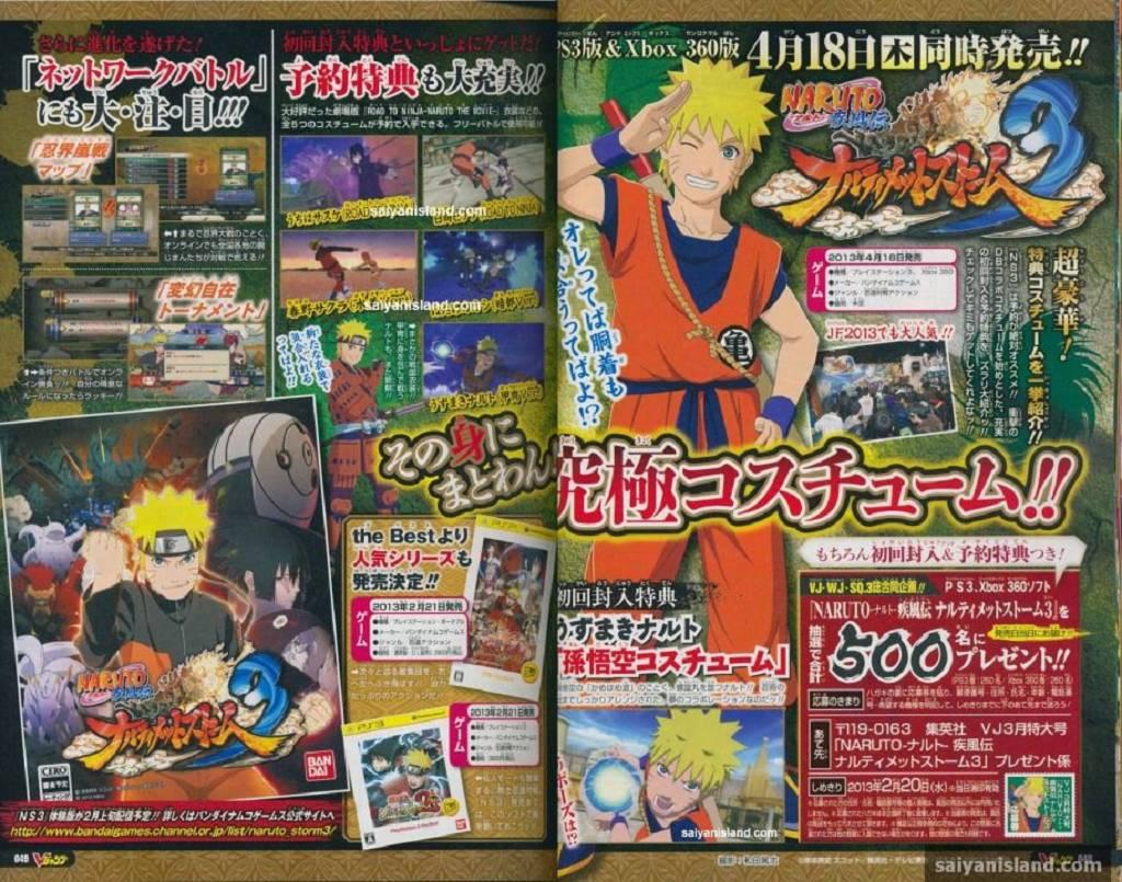 Naruto Storm 3 DLC