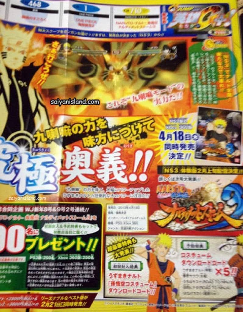Naruto Ultimate NInja Storm 3 Kyuubi Mode