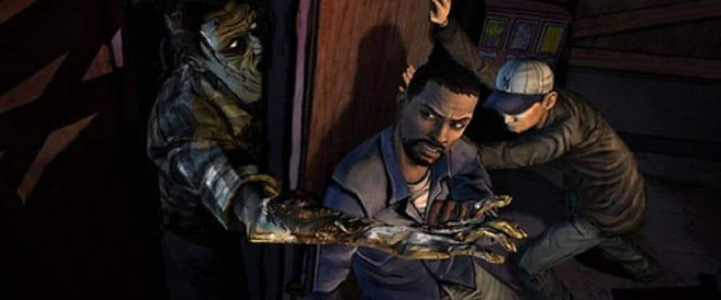 The Walking Dead Telltale Banner